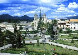 CAJAMARCA, the thermal village of the Incas